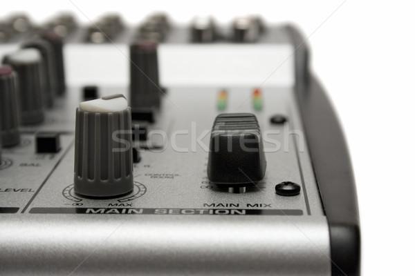 Mixing Desk Detail Stock photo © winterling