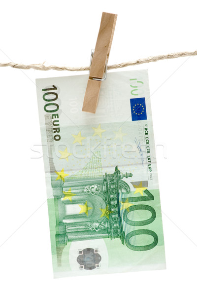 Drying One Hundred Euro Stock photo © winterling