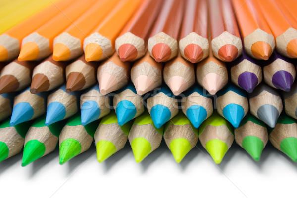 Crayons coloré école Photo stock © winterling