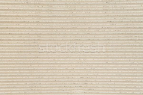 Ribbed Cardboard Stock photo © winterling