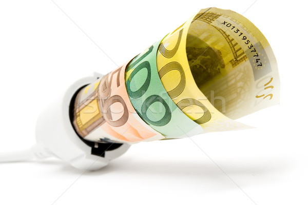 Stock photo: High Electricity Costs