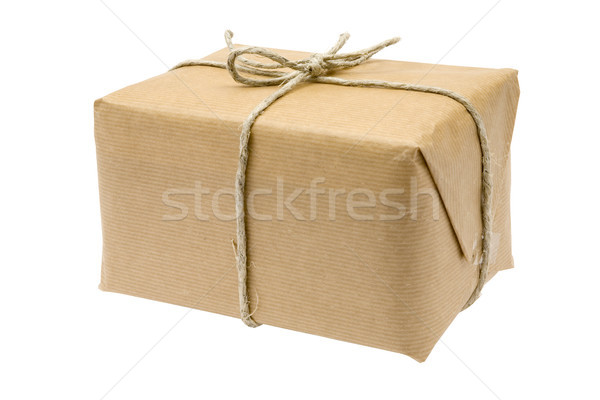 Brown Parcel Stock photo © winterling