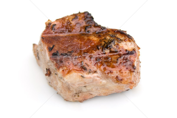 Barbecued Piece of Meat Stock photo © winterling