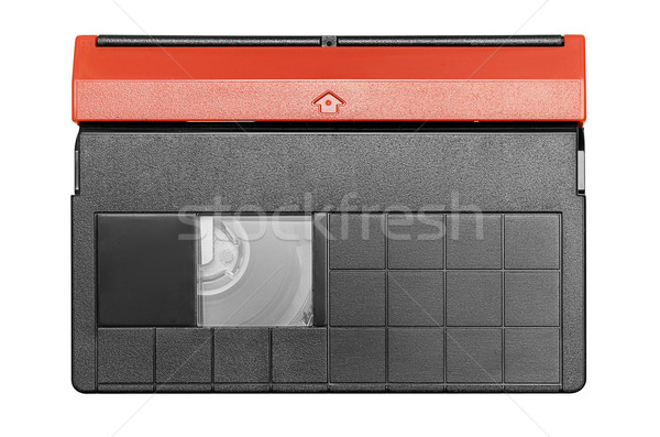 Mini DV Cassette with Clipping Path Stock photo © winterling