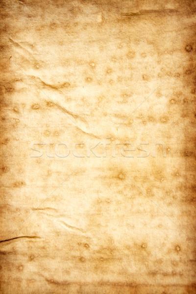 Vieux taché papier sale texture du papier texture Photo stock © winterling