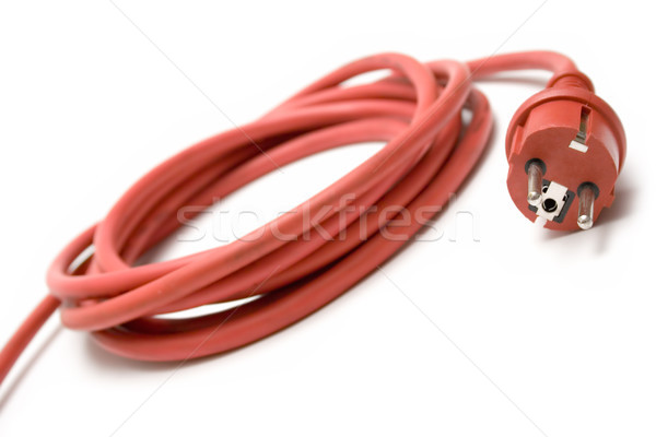 Red Extension Cable Stock photo © winterling