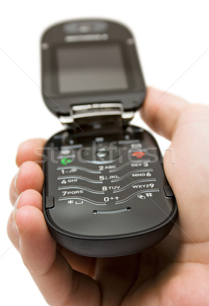 Open Cell Phone Stock photo © winterling