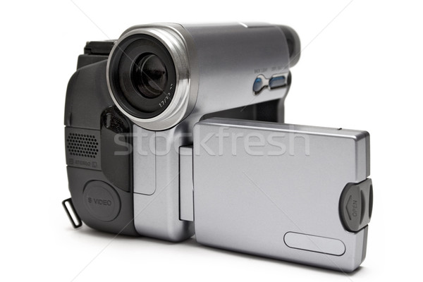 Metallic Digital Camcorder Stock photo © winterling
