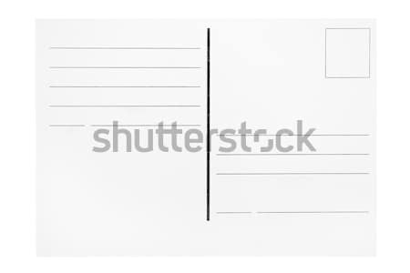 Postcard Template Stock photo © winterling