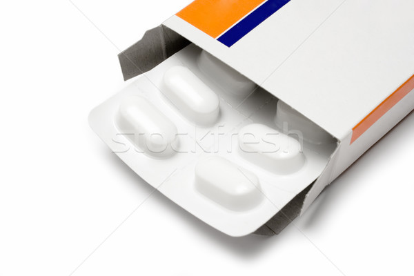 Pack of Pills Close View Stock photo © winterling
