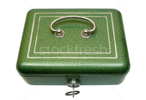 Closed Cash Box with Clipping Path Stock photo © winterling