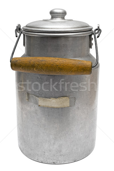 Vintage Milk Can with Clipping Path Stock photo © winterling