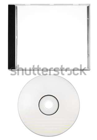 Cover and Blank Disc with Clipping Path Stock photo © winterling
