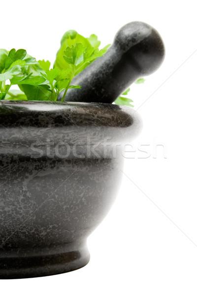 Crushing Herbs Stock photo © winterling