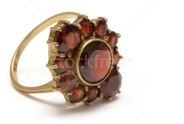 Vintage Garnet Ring Stock photo © winterling