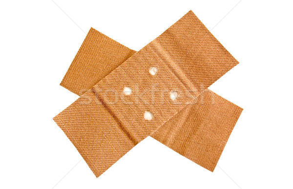 Adhesive Bandage with Clipping Path Stock photo © winterling