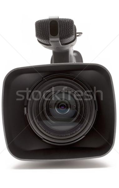 Digitale videocamera sluiten detail Stockfoto © winterling