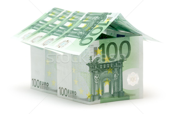 Big One Hundred Euro House Stock photo © winterling