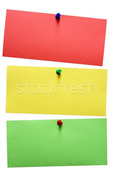 Stoplicht merkt Rood Geel groene Stockfoto © winterling