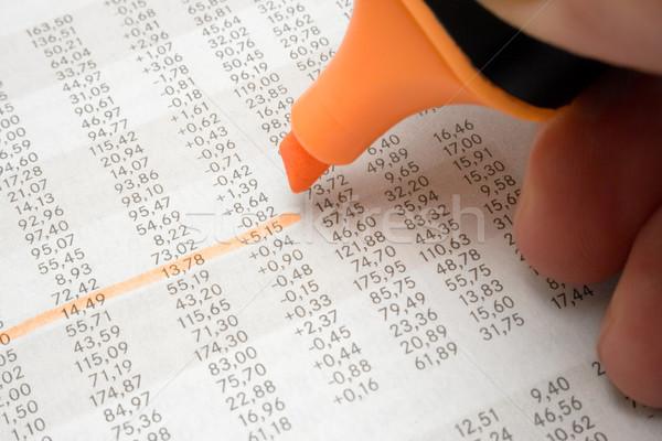 Highlighting Numbers Stock photo © winterling