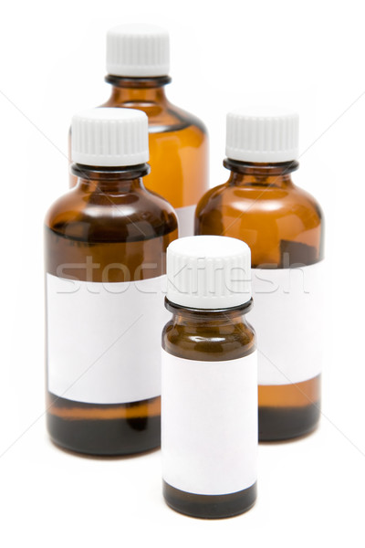 Various Medicine Bottles Stock photo © winterling