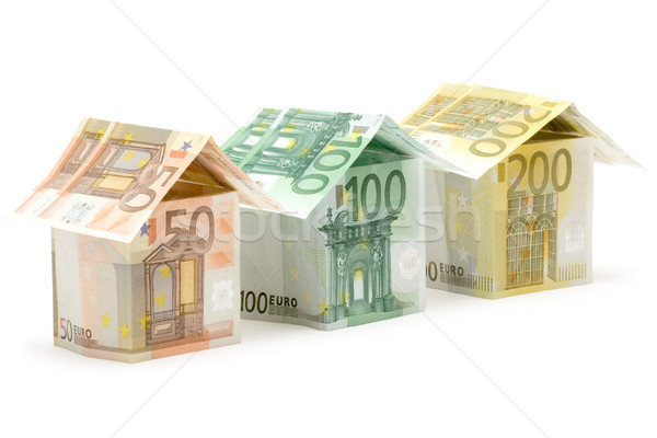 Euro Houses Stock photo © winterling