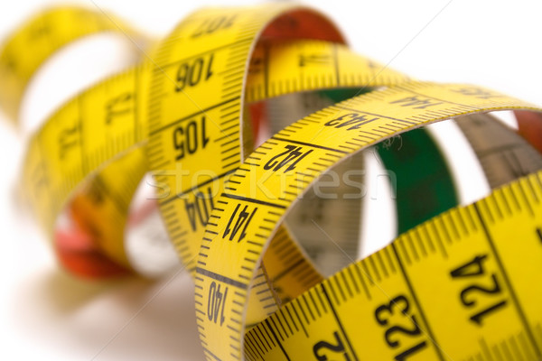 Winding Tape Measure Stock photo © winterling