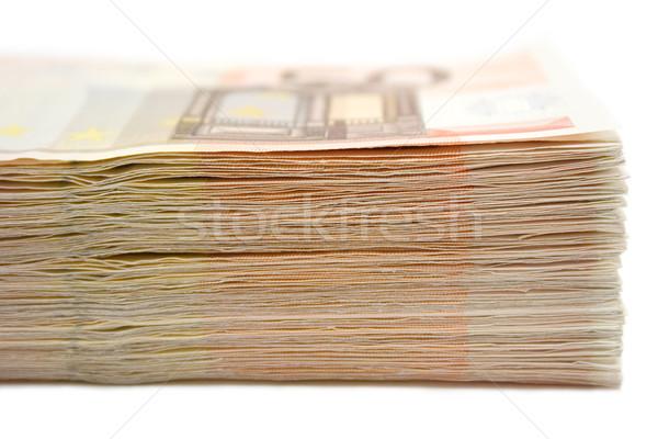 50 euro isolato Foto d'archivio © winterling