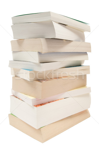 Stacked Pocket Books Stock photo © winterling
