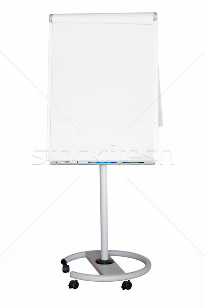 Flip Chart with Clipping Path Stock photo © winterling