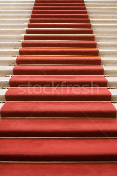 Stock photo: Stairway to Fame