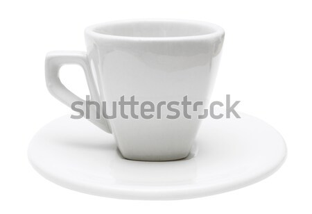 White Espresso Cup with Clipping Path Stock photo © winterling