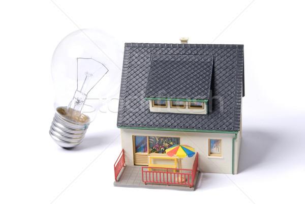 house bulb Stock photo © wisiel