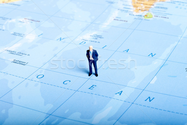 ocean man Stock photo © wisiel
