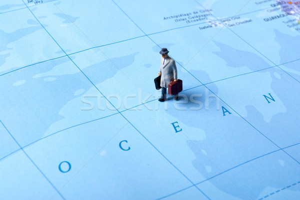 oceanic travel Stock photo © wisiel