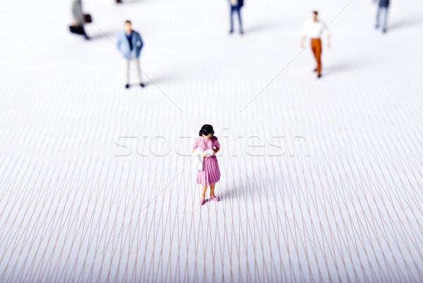 miniature people Stock photo © wisiel
