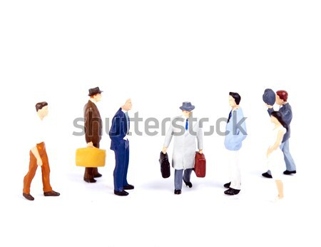 people team Stock photo © wisiel