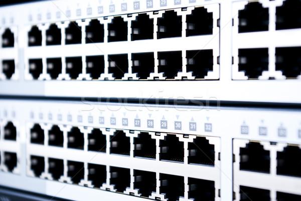 Ethernet Internet Technologie Server Netzwerk Web Stock foto © wisiel