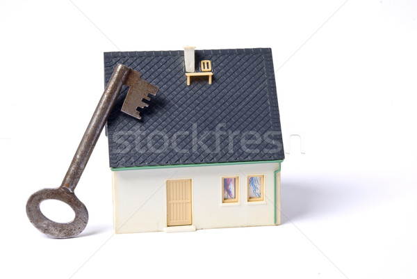 Stock photo: key house