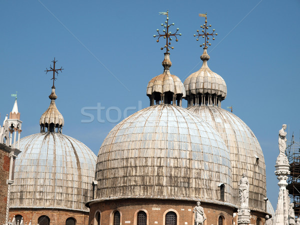The dome of the Basilica San Marco in Venice Stock photo © wjarek