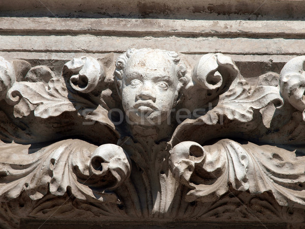 Imperishable beauty of details on the Doge's Palace, Venice, Stock photo © wjarek