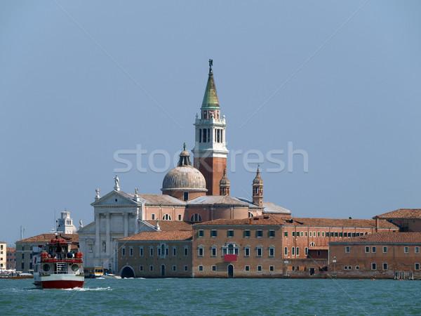Venice - basilica of San Giorgio Maggiore Stock photo © wjarek