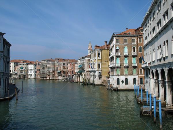 Венеция изысканный антикварная зданий канал морем Сток-фото © wjarek