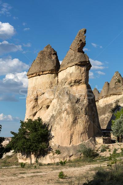 Kő park Törökország szeretet tájkép hegy Stock fotó © wjarek