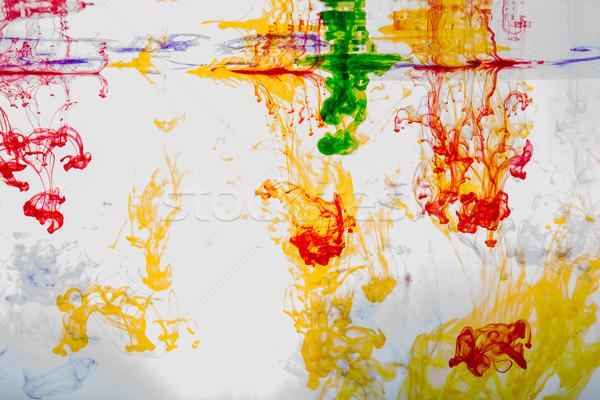 аннотация красочный огня дизайна энергии Сток-фото © wjarek
