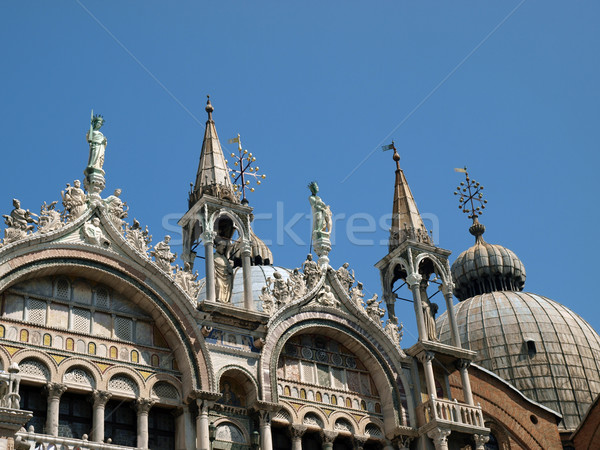 Venice - The basilica St Mark's. Stock photo © wjarek