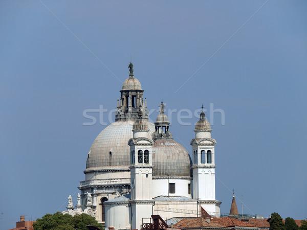 Stock photo: Venice - The Roofs of Basilica di Santa Maria Della Salute