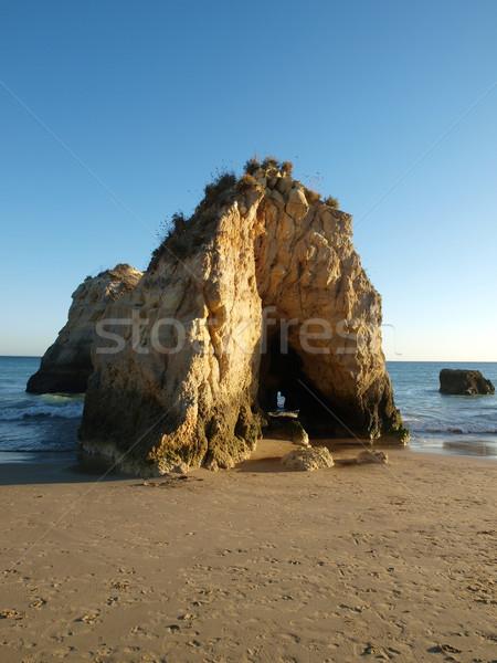 Beach at Algarve in the South of Portugal Stock photo © wjarek