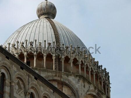 Kathedraal onderstelling veld marmer toren godsdienst Stockfoto © wjarek