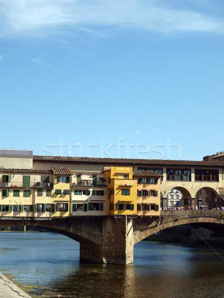 The Ponte Vecchio /Old Bridge/ in Florence Stock photo © wjarek